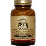 Vitamina E 400 UI Seca · Solgar · 50 cápsulas