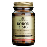 Boro 3 mg · Solgar · 100 cápsulas