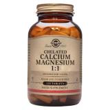 Calcio/Magnesio Quelado 1:1 · Solgar · 120 comprimidos