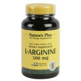 L-Arginina 500 mg · Nature's Plus · 90 cápsulas