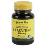 L-Carnitina 300 mg · Nature's Plus · 30 cápsulas