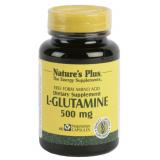 L-Glutamina 500 mg · Nature's Plus · 60 cápsulas