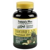 Ultra Bromelaina 1.500 mg · Nature's Plus · 60 comprimidos