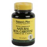 Natural Beta Caroteno · Nature's Plus · 90 perlas