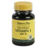 Vitamina E 400 UI · Nature's Plus · 60 perlas