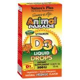Animal Parade Vitamina D3 Gotas · Nature's Plus · 10 ml