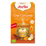 Chai Curcuma · Yogi Te · 17 filtros