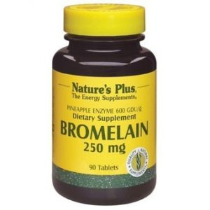 Bromelaina 250 mg · Nature's Plus · 90 comprimidos